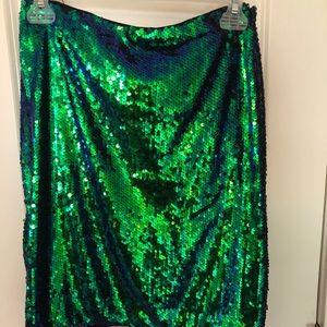 Dresses & Skirts - Mermaid Sequin mini skirt